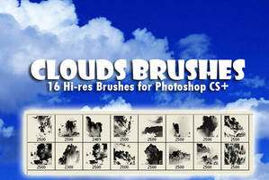 Clouds Background Brushes by fiftyfivepixels