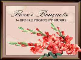Flower Bouquets-PS Brush by fiftyfivepixels
