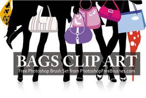 15 Designer Bag PS Brushes by fiftyfivepixels