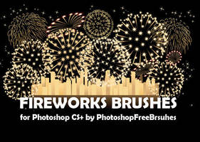 18 Fireworks Photoshop Brushes by fiftyfivepixels