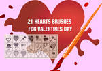 Valentine 2010 PS Brushes by fiftyfivepixels