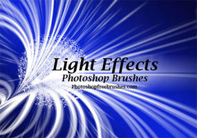 16 Light Effects PS Brushes by fiftyfivepixels