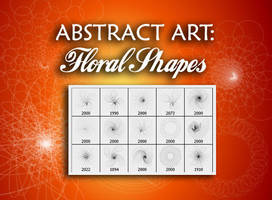 Abstract Brushes:Floral Shapes by fiftyfivepixels
