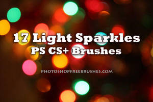 17 Sparkle of Lights PS Brush by fiftyfivepixels