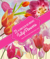 23 Free High-Res Tulips Photoshop Brushes by fiftyfivepixels
