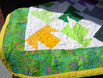 T-Shirt Quilt 5 (SOLD) by Rain-Twister