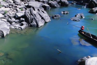 River Blues of Sangu by yearuzzaman