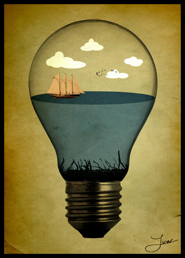 life in a bulb by natdatnl