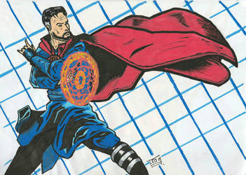 Doctor Strange by LeoMarmd