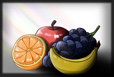 Random fruit by kktwojingle