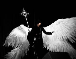 Angel Sanctuary: Lucifel(Perfomance) by GeshaPetrovich
