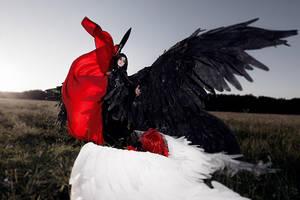 Angel Sanctuary: Battle Lucifer vs Michael by GeshaPetrovich