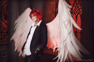 Angel Sanctuary - Archangel Michael by GeshaPetrovich