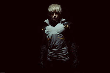 One Punch Man - Genos by GeshaPetrovich
