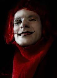 White Clown by berenika