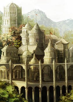 Lore of Steel - The Palace by pixieface