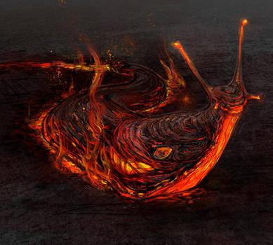 Lava Slug by pixieface
