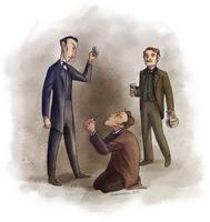 BLUE Illustration by Windmaedchen