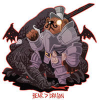 Bear Vs Dragon- Proven by stplmstr