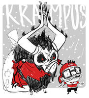 Tinman Draws- Krampus by stplmstr