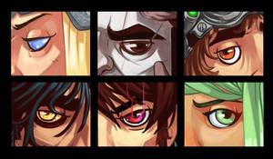DnD Eyes by stplmstr