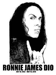 DSS No. 55 - Ronnie James Dio by gothicathedral