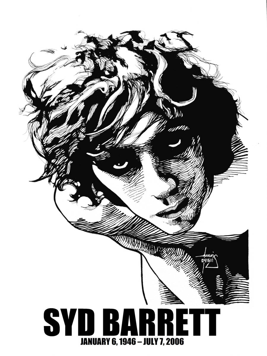 DSS No. 58 - Syd Barrett by gothicathedral
