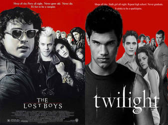 The Twilight Saga Parody Poster Compare by MidNightMagnificent