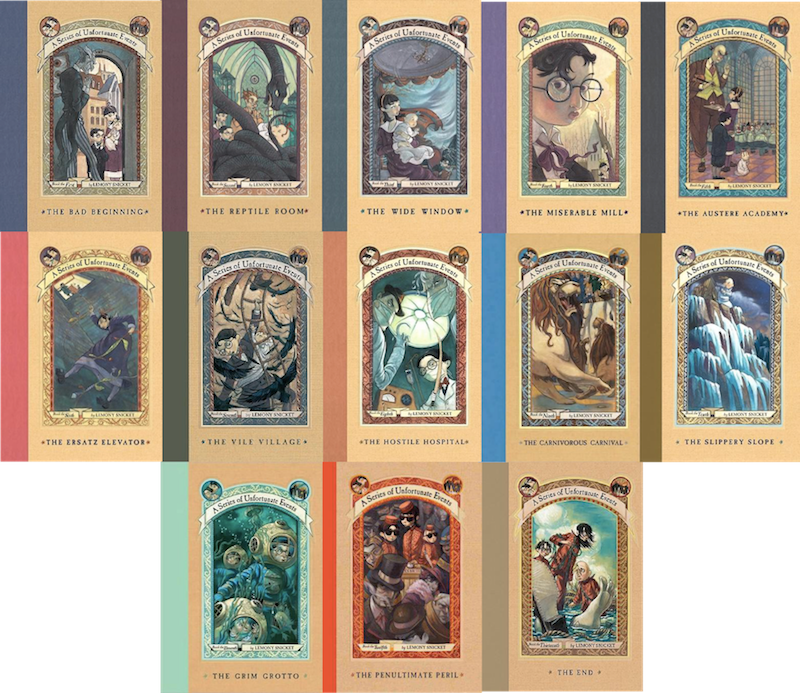 Aseriesofunfortunateevents by MidNightMagnificent