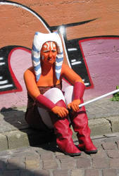Ahsoka Tano costume 2 by Troopergirl