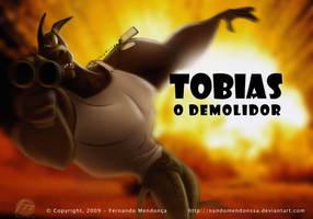 Tobias O Demolidor by nandomendonssa