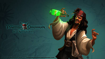 Pirates of the Caribbean at Neverland by nandomendonssa