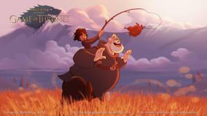 Disney GOT Bram and Hordor by nandomendonssa