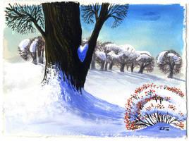 Winter card III by 13Mirror