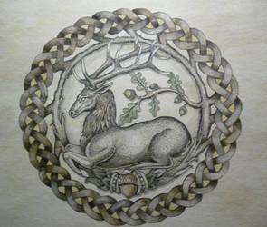 Deer by Forestkeeper100