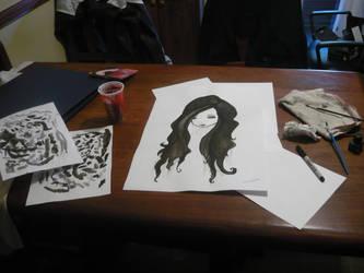 dibujo en ink by goldfrapper