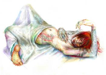 sleeping beauty by ototoi