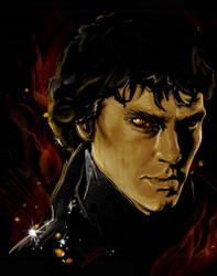 Sherlaug the Cumberdragon by TheDandyDragon