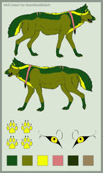 Laurelia Syrkkas (AzureHowl Forester Slave Entry) by RollingEevee