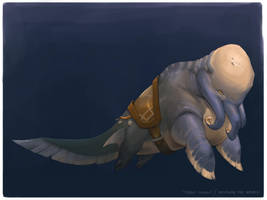 Beneath the Waves_Merchant mount by Keltainen