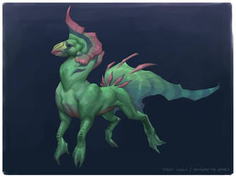 Beneath the Waves_Mount by Keltainen
