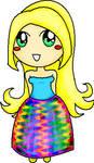 happy chibi girl by kemz31