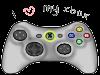 I love my Xbox stamp by SteffieSilva
