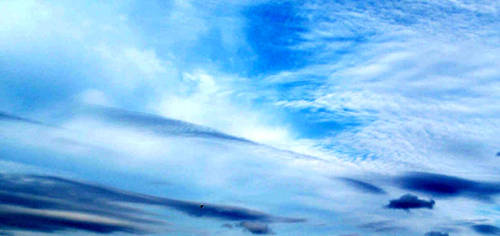 Skies of Blue, Clouds of White by bit-v1