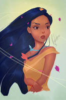 Pocahontas by RajkumarLakra