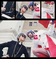 Ao no Exorcist - Exorcist and Devil by Phoenixiaoio