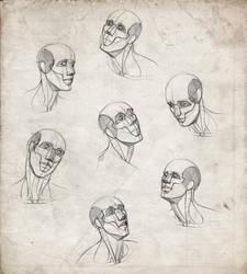 Head Practice by giselleukardi