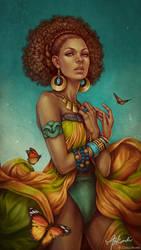 Desert Queen by giselleukardi