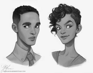 Character Portraits II by giselleukardi