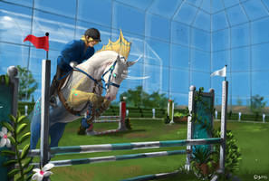 *WON* Next try in glass hall by Brissinge
